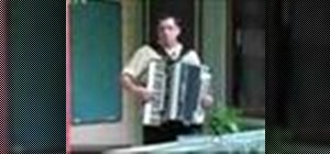 Play the accordian