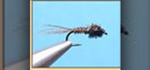 Tie the flashback pheasant-tail nymph when fly fishing
