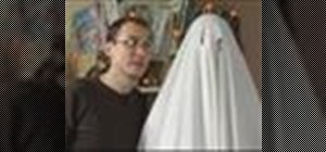 Make a ghost costume