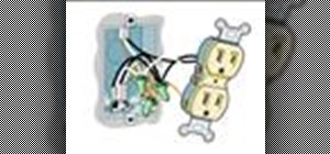 Replace a split circuit electrical outlet