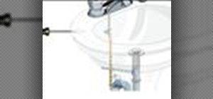 Adjust a faucet lift rod