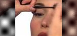 Properly apply mascara