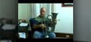 Play a baritone horn