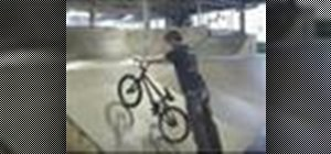 Do a BMX fakie rollback