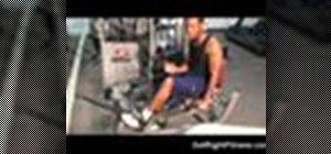Do rotary calf exercises