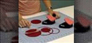 Use a Fiskars circle border punch