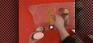 Make decoupage soap in Rosie O'Donnell's Crafty U show