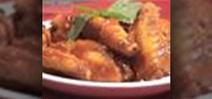 Make Thai deep fry sweet and sour chicken