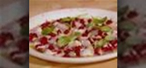 Make red mullet sashimi with Jamie Oliver