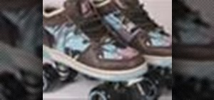 Build custom roller skates from old shoes