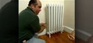 Install a radiator thermostat with This Old House