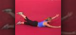 Exercise w/alternating superman w/ opposite arm & leg