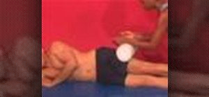 Exercise with the assisted it band massage
