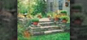 Install Pavestone pavers, retaining walls, and edgers