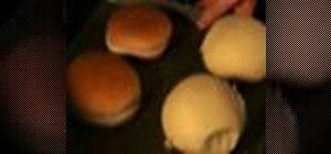 Grill a portobello burger