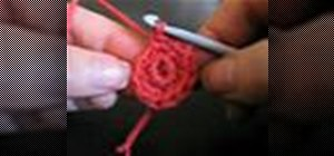Crochet a single crochet stitch in spirals