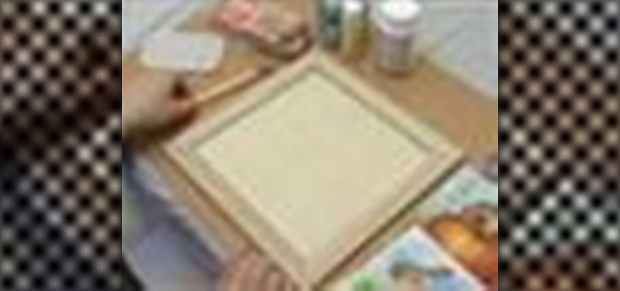 How to Create a 3-D picture within a wooden frame « Kids Activities ...