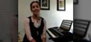 Teach piano to children
