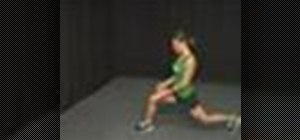 Do lunge tap exercises