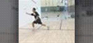 Practice squash with movement drills