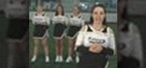 Perform basic cheerleading stunts