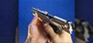 Unload a Beretta 92FS pistol