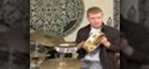 Play the tambourine