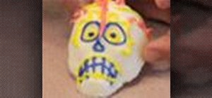 Decorate Day of the Dead sugar skulls