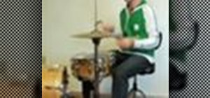 "Play ""Float On"" by Modest Mouse on drums"