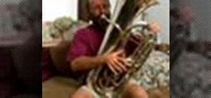 Play the tuba