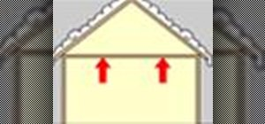 Insulate an unfinished attic