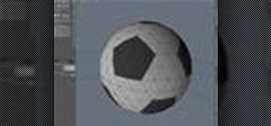 Model a soccer ball in modo 301