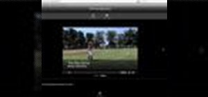 Publish your iMovie to your MobileMe gallery