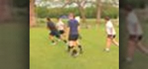 Play a game of touch rugby