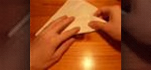 Origami a fiddler crab