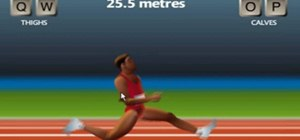 Beat the QWOP game with an untraditional Olympic running approach