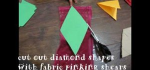 Recycle old t-shirts into decorative bunting