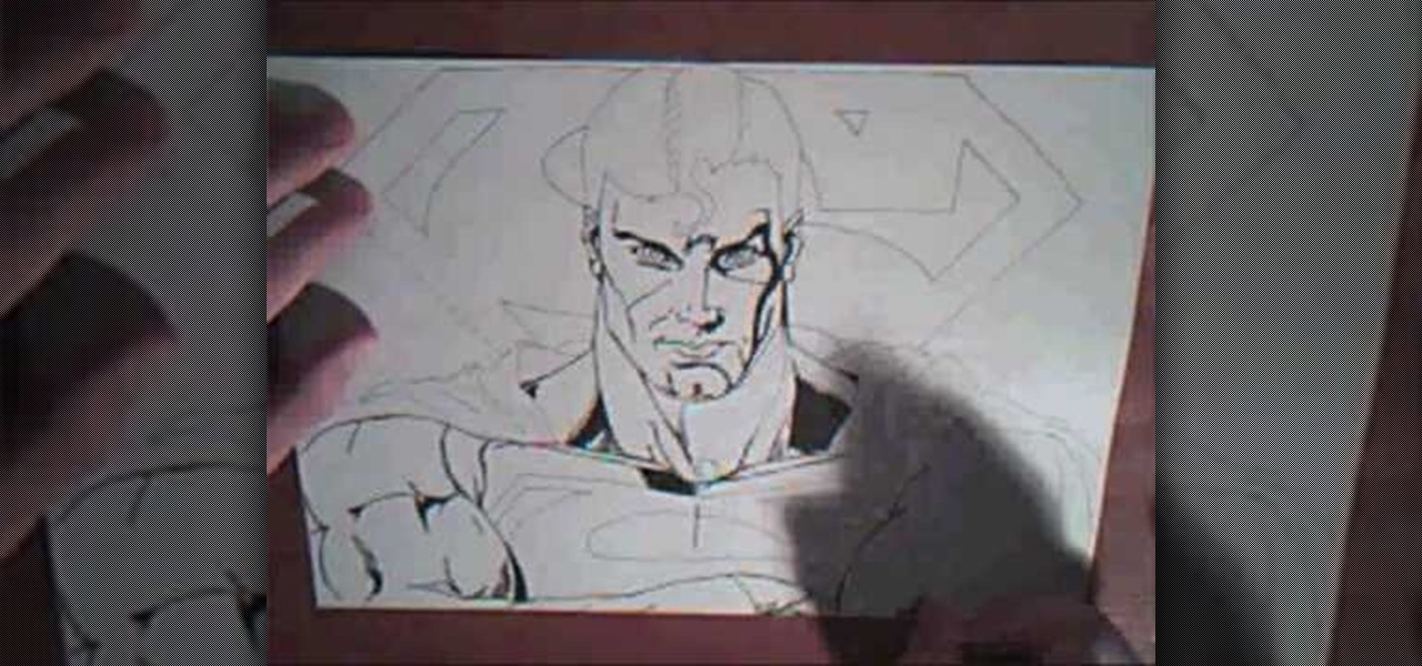 How to Draw Superman f...