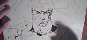 Draw Superman from DC Comics