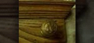 Make a wooden doorknob coatrack