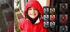 Use one-click editing effects in iPhoto