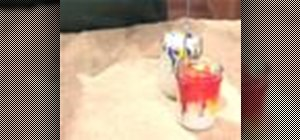 Marble color in container candles