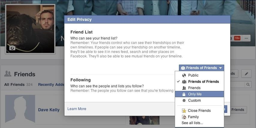 """How to Hack Someone's """"Private"""" Friends List on Facebook to See All of Their Friends"""
