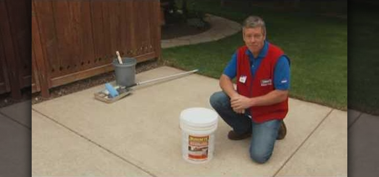 How to clean a concrete driveway with tips from lowe 39 s for Clean oil off concrete