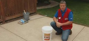 Clean a concrete driveway with tips from Lowe's