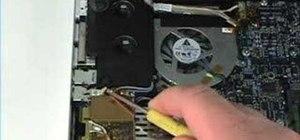 "Repair a MacBook Pro 17"" - Airport module removal"