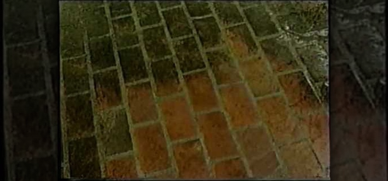 How To Clean A Brick Patio 171 Housekeeping Wonderhowto