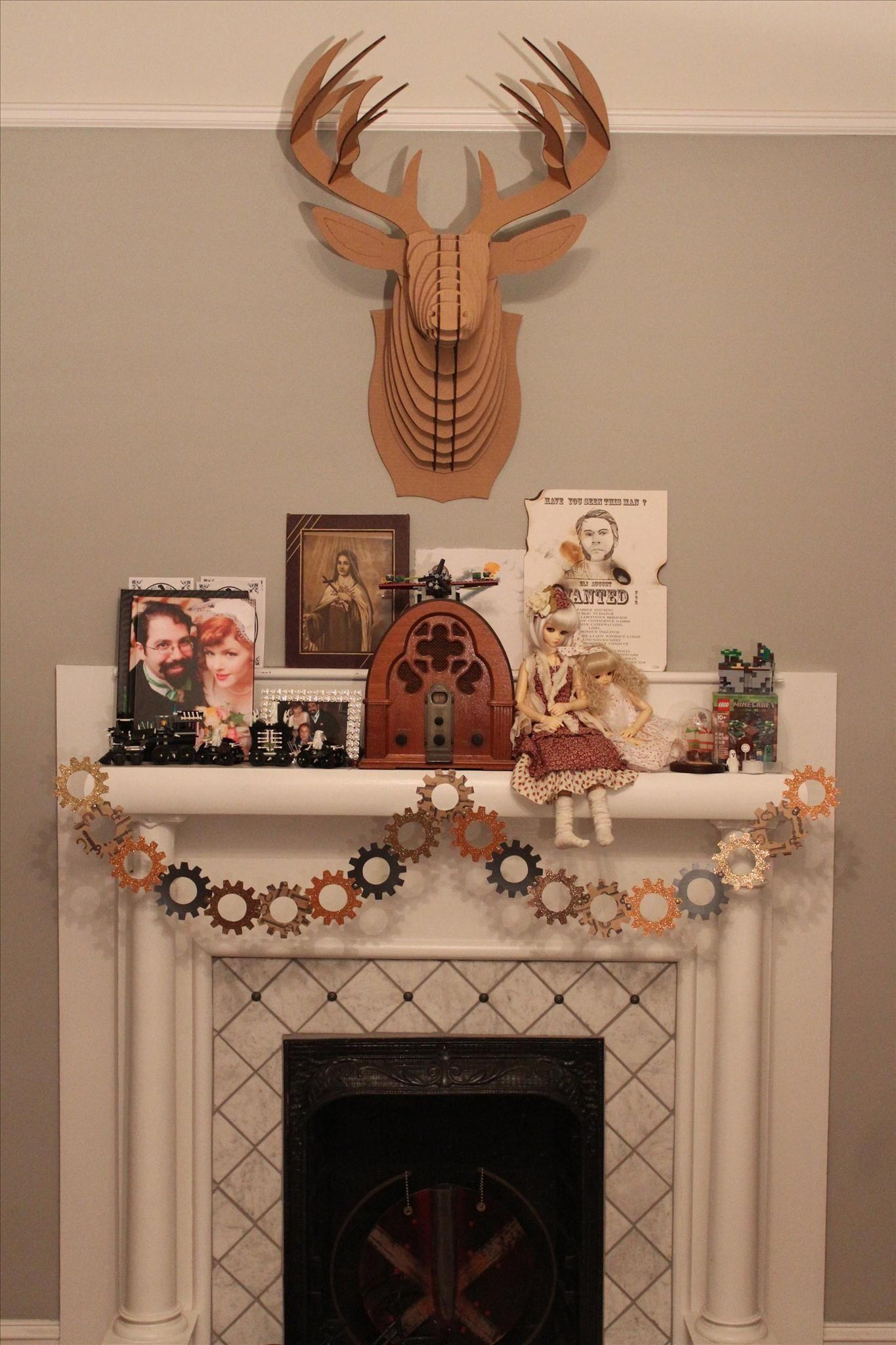 Steampunk your halloween decorations with these diy for Diy steampunk home decor