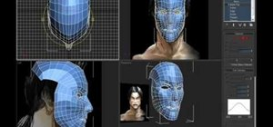 Use plane modeling to model a head in 3ds Max