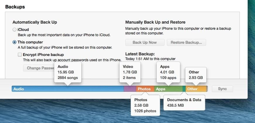 how to delete things individually from icloud